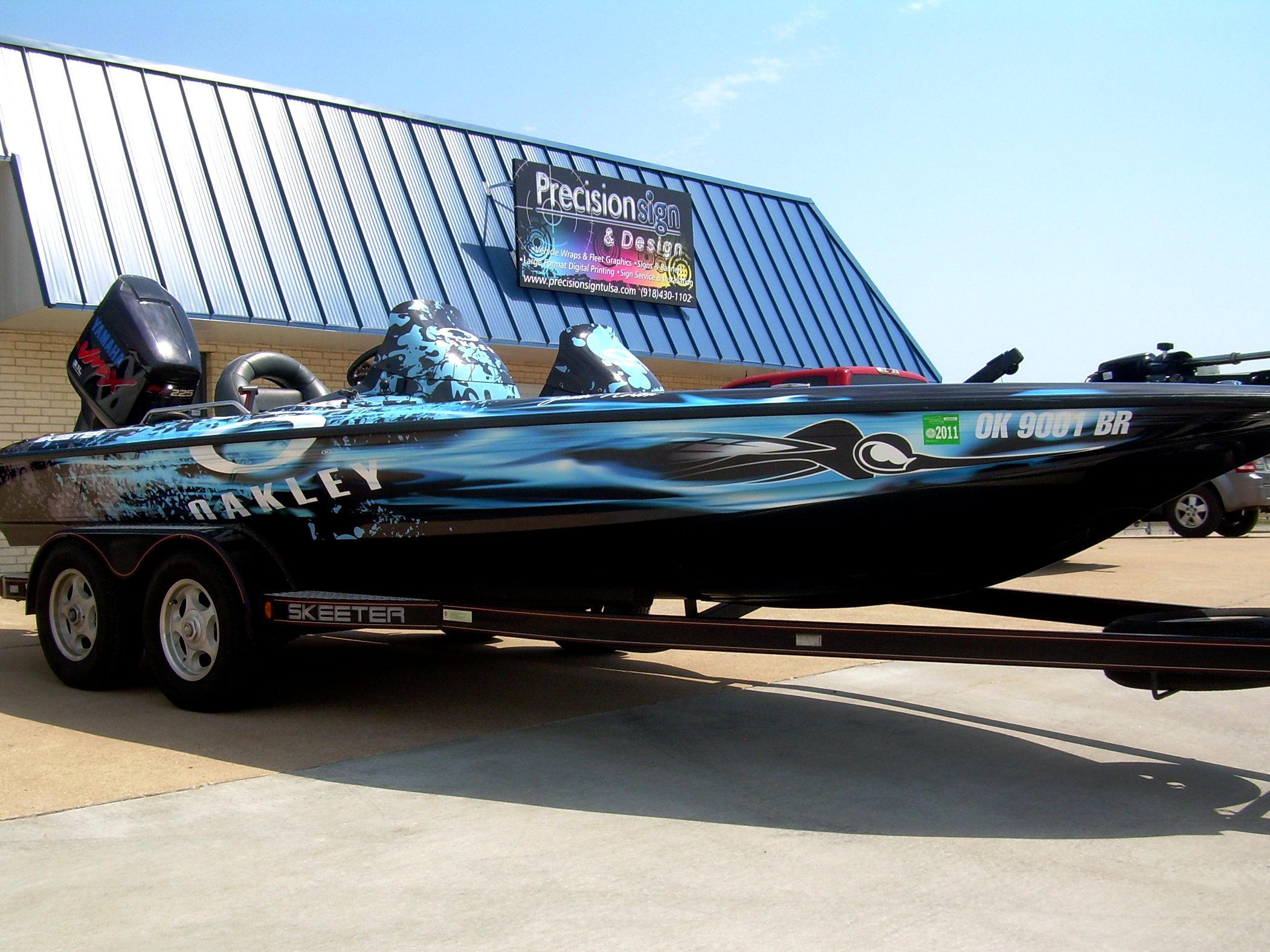 Bass Boat Wraps Precision Sign Design