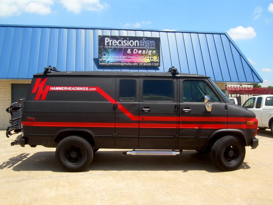 Cut Vinyl Van Graphics Precision Sign Amp Design
