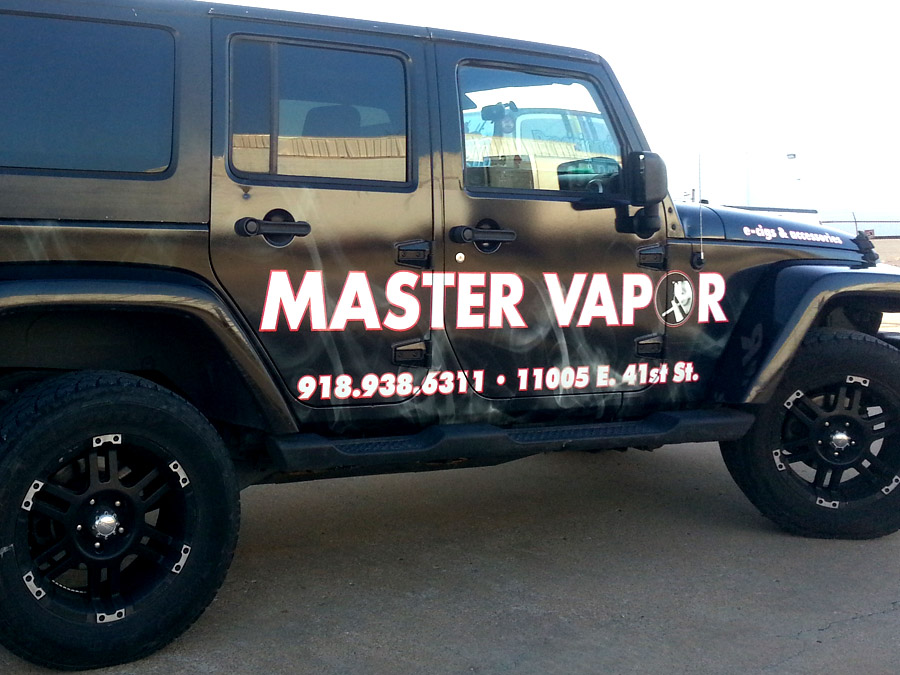 Tulsa Jeep Wrangler Graphics Precision Sign Amp Design