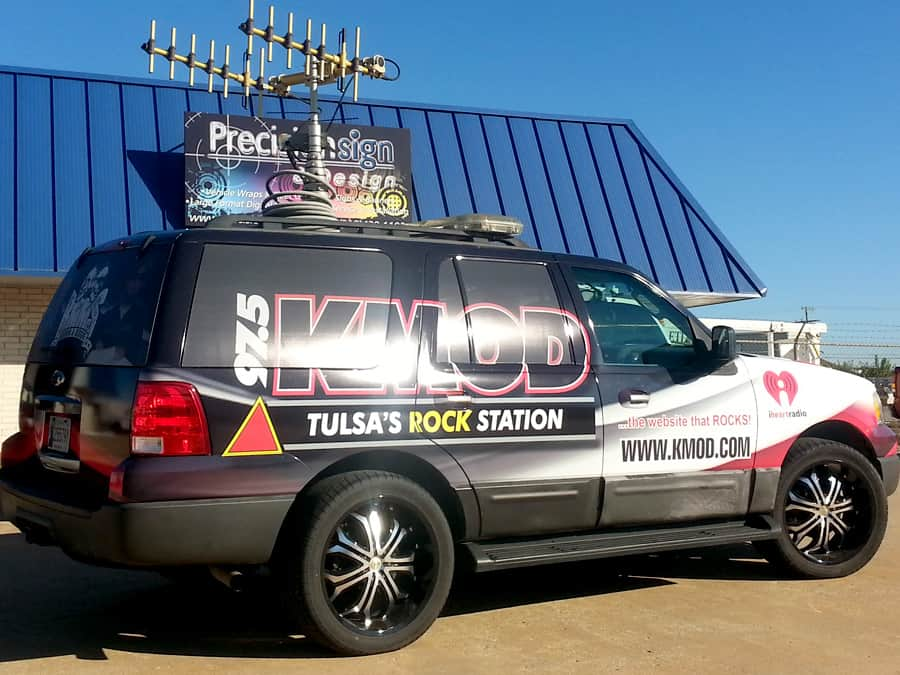 Tulsa Kmod Expedition Wrap Precision Sign Amp Design