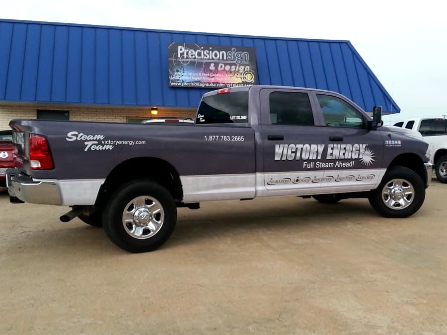 Custom Full Truck Wrap Precision Sign Amp Design