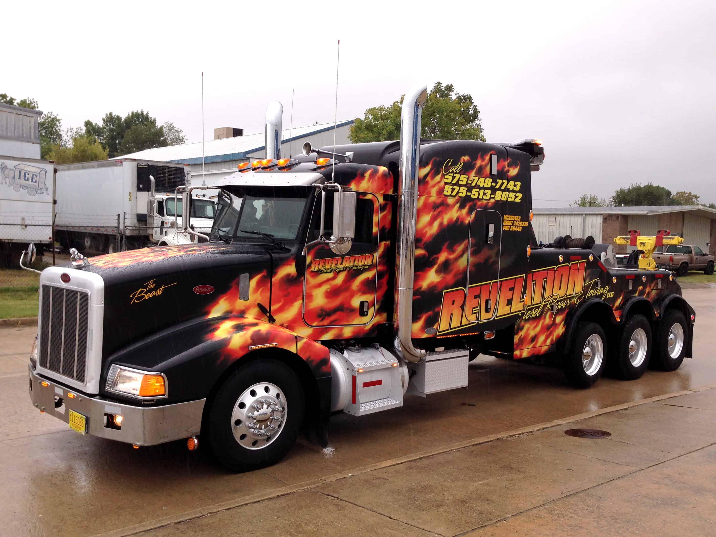 Tow Truck Graphic Design Arts Arts