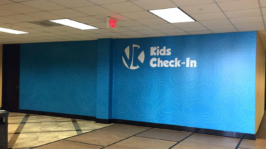 Tulsa victory christian wall mural precision sign design for Christian wall mural