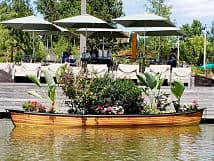 Tulsa Gathering Place Canoe Wraps Precision Sign Amp Design
